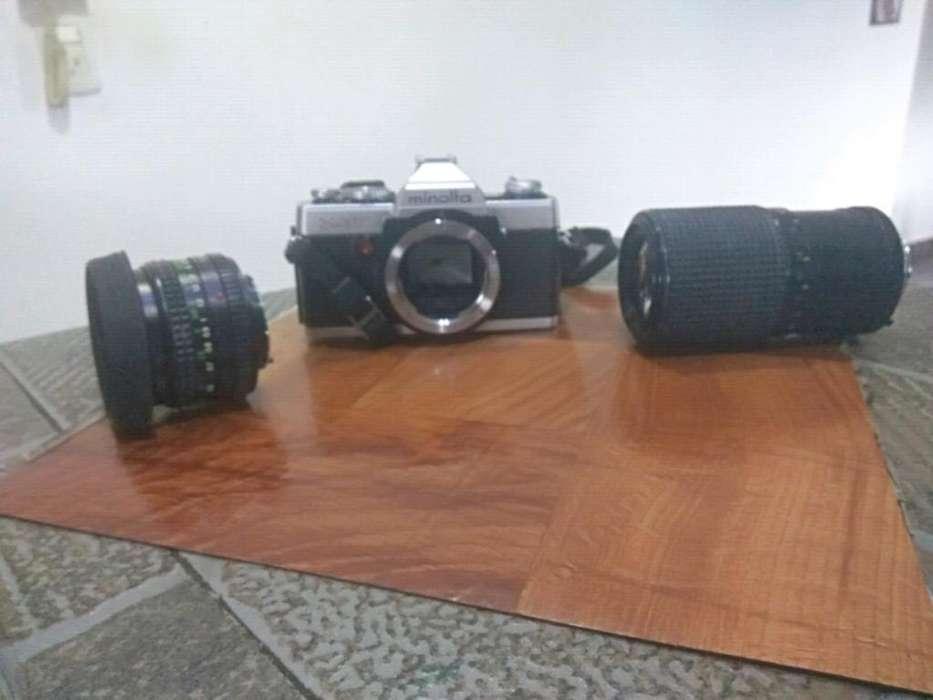 Camara Minolta Reflex Xg7
