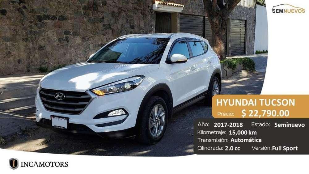 Hyundai Tucson 2017 - 15000 km