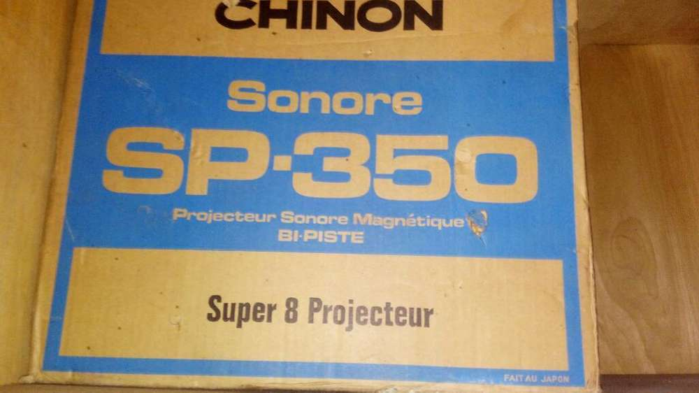 Proyector 8mm Sonoro