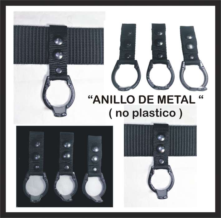 Porta Tonfa Tactico Anillo De Metal No Plastico Policia