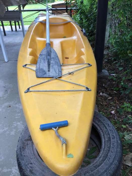 Vendo Kayakpoco uso muy buen estado