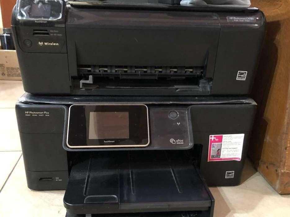 Dos <strong>impresoras</strong> Hp para Repuestos