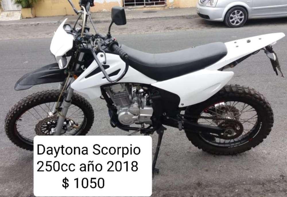 Daytona Scorpio 250cc 2018 Al Día