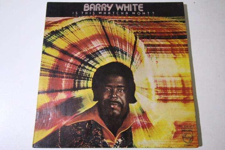 barry white is this watcha wont LP vinilo edición perú rock hago envíos