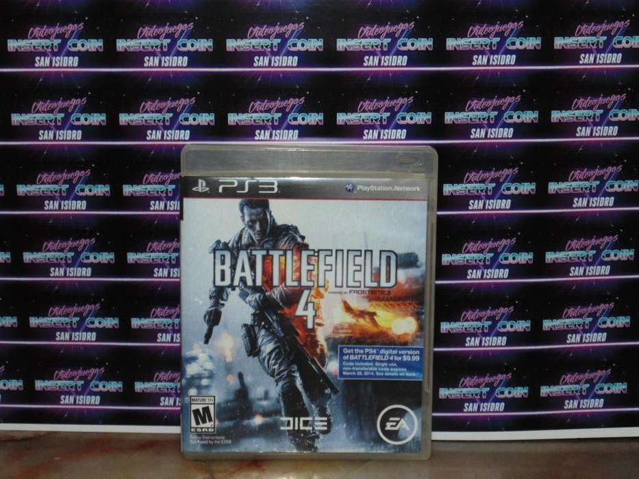 Battlefiled 4 PS3 Juego <strong>play</strong> Station 3
