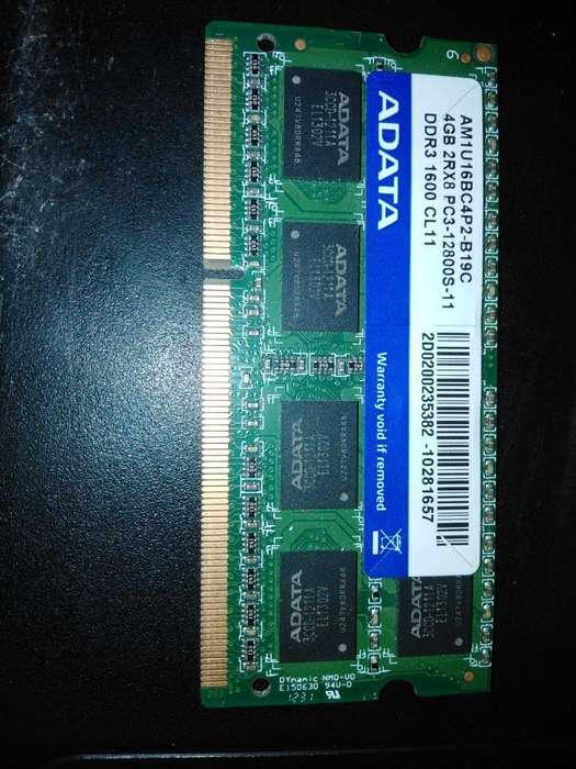 Memoria Ram para <strong>laptop</strong>