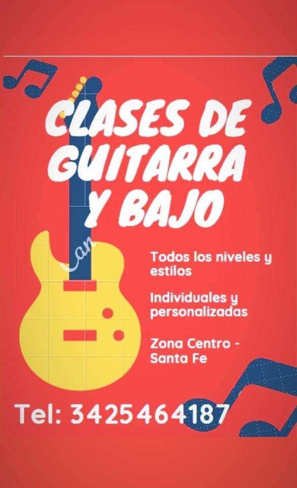 Clases Guitarra y Bajo, Santa Fe Capital