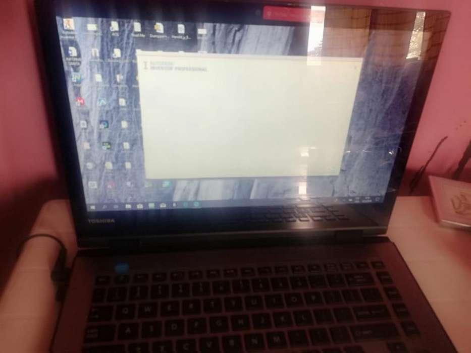 <strong>laptop</strong> Thosiba Slim 4 en 1 Como Nueva