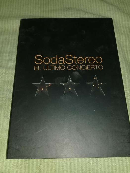 Dvd Original de Soda Stereo