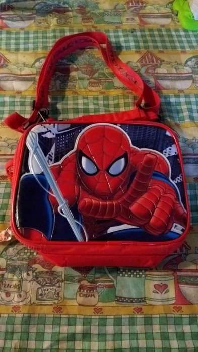 lunchera spider man