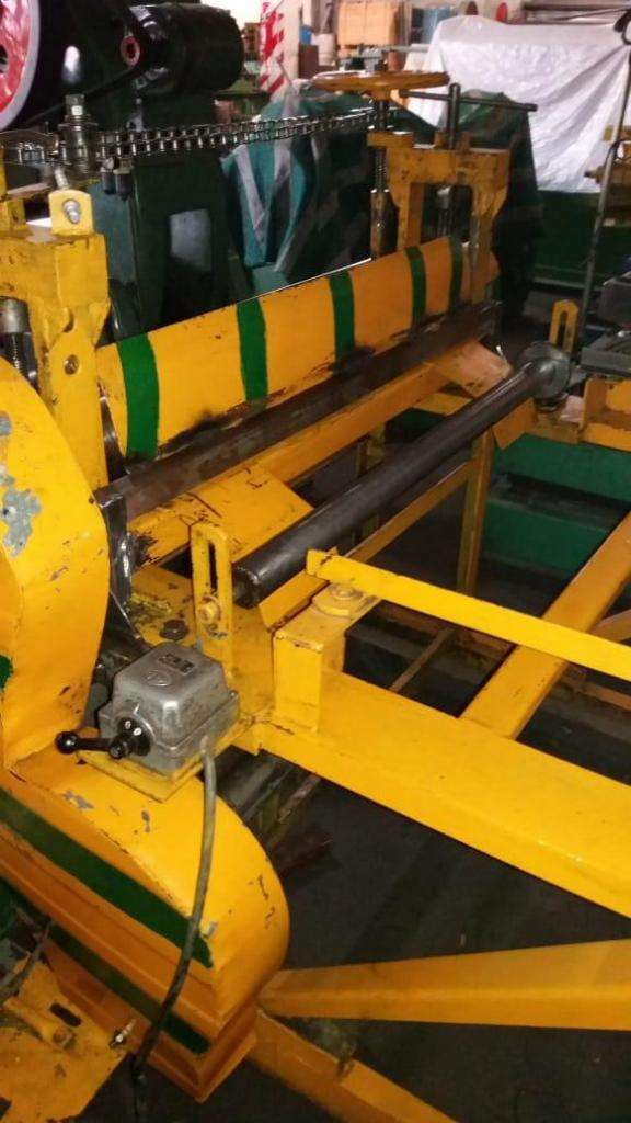 Cilindradora formadora de paneles silos 1220mm