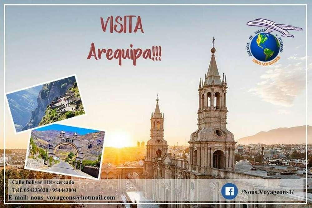 Tour Arequipa Y El Cañon Del Colca