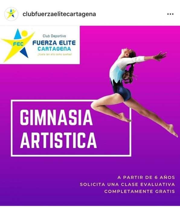 GIMNASIA ARTISTICA CLUB DEPORTIVO FUERZA ELITE