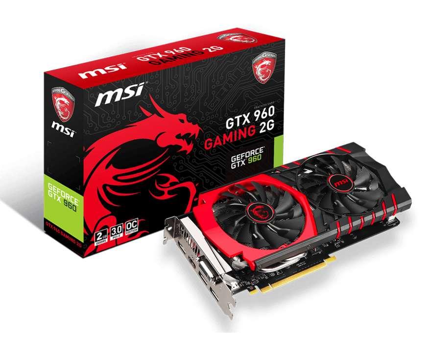 Msi Gtx 960 Gaming 2gb