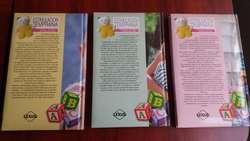 Vendo 3 Libros de Estimulación Temprana