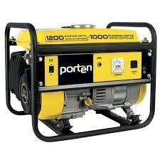 Generador eléctrico porten 1200 watts a gasolina