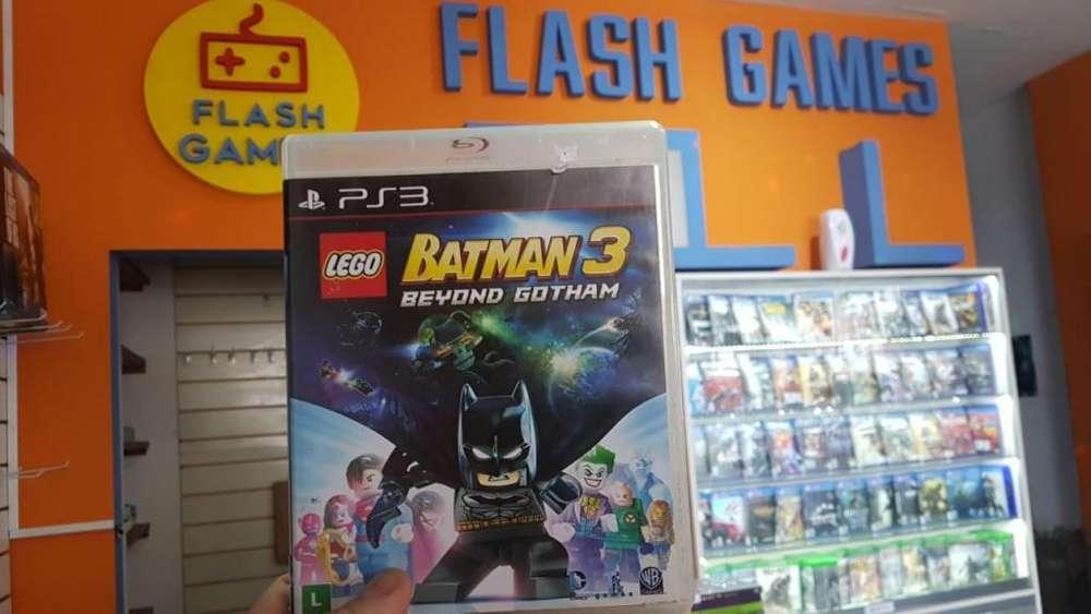 LEGO Batman 3. recibo tarjetas. local céntrico c/garantía. juegos play 3 físico usado. PS3