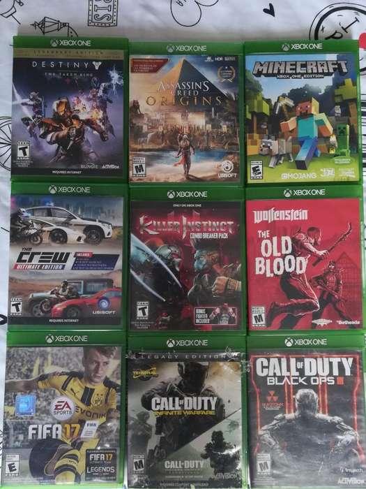 Juegos Físicos Originales de Xbox One