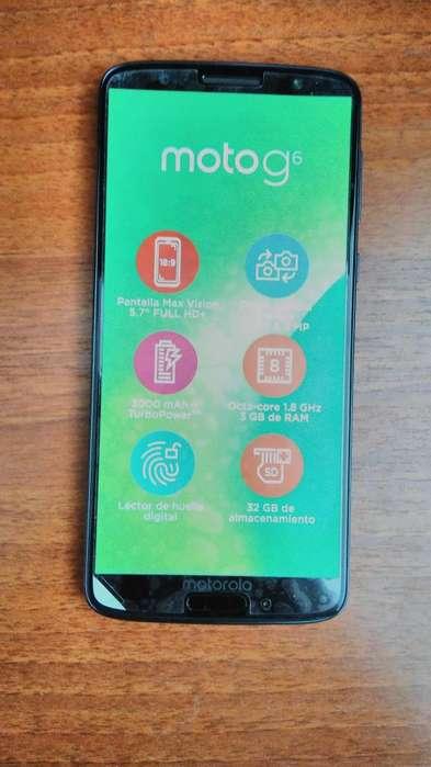 Motorola G6 Azul Indigo 32GB - Doble SIM USADO