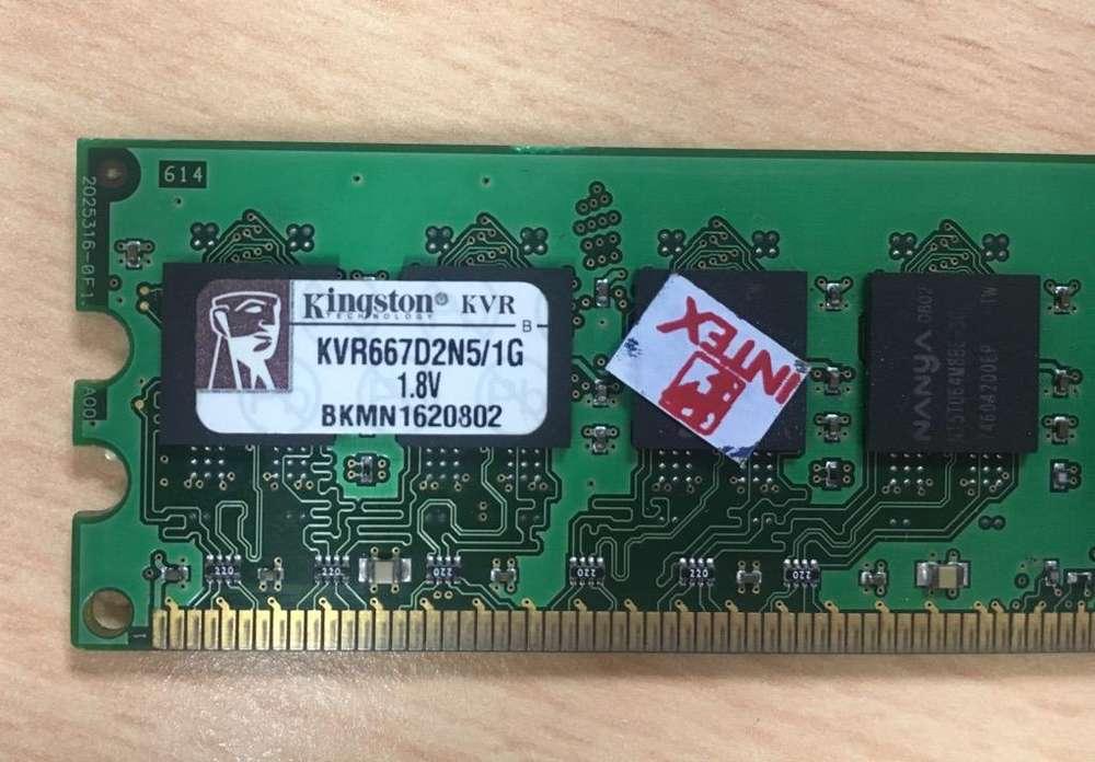 Memoria Ram Dd2 - 1Gb