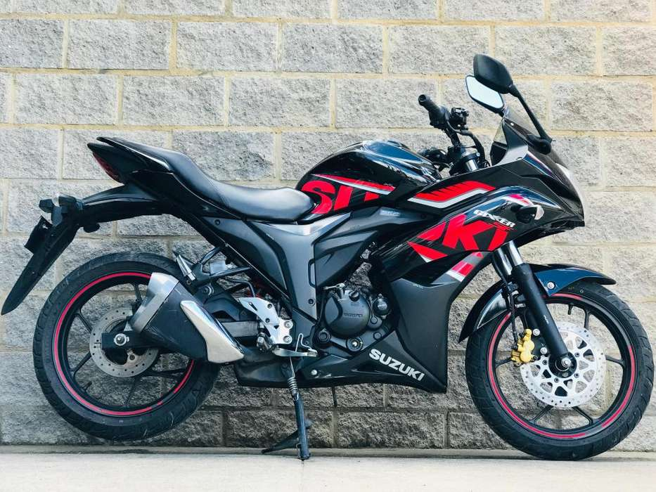 SUZUKI GIXXER SF FI FULL INYECTION MOD 2018 CRÉDITO FINANCIACIÓN