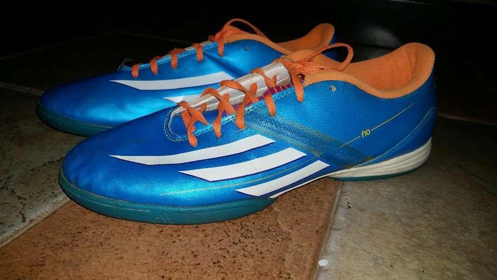 Botines Adidas F10 Usada