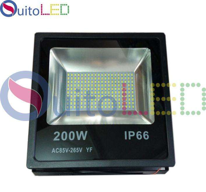 REFLECTOR LED 200 W INDUSTRIAL 200 W LED POTENTE IP66 PARA EXTERIOR LUZ BLANCA QUITOLED