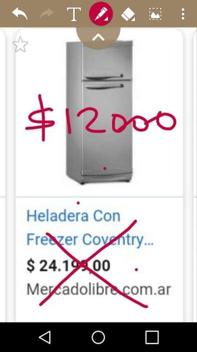 Heladera con Freezer Nueva Liquido Hoy