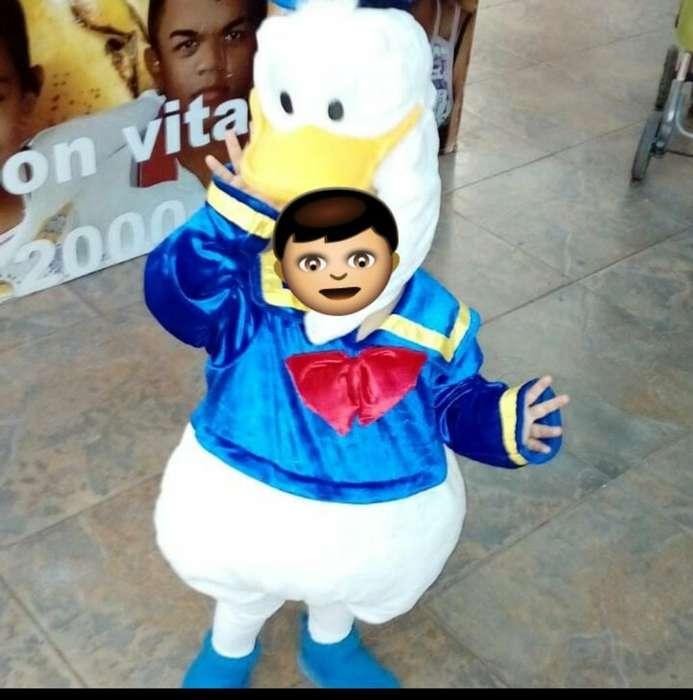 Vendo Disfraz de Pato Donal