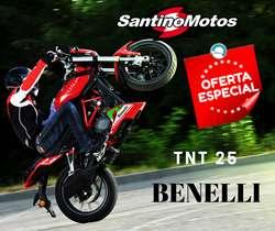 BENELLI TNT25 250CC 0KM OFERTA ESPECIAL CONTADO..!!!