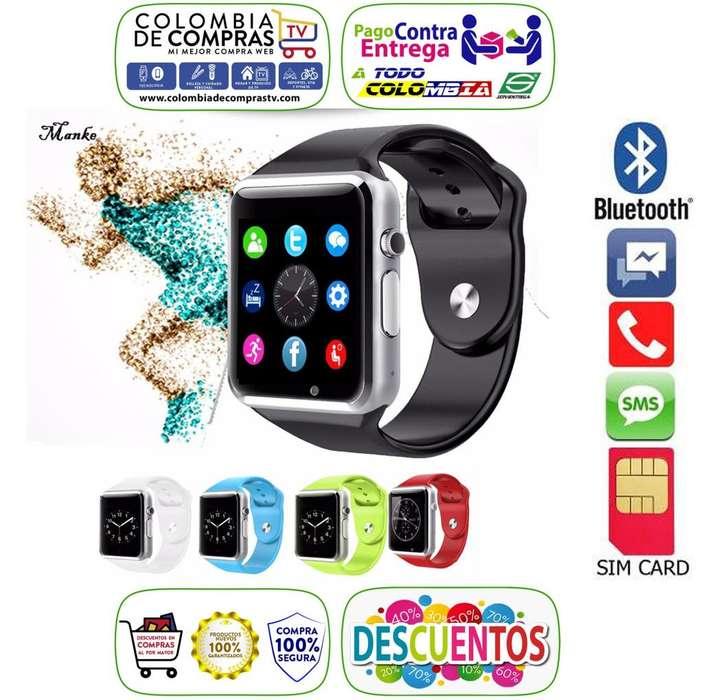 Reloj Inteligente Smartwatch Camara Sim Sd Homologados, <strong>bluetooth</strong>, Smartphone Android, Smart Watch, Nuevo, Garantizados