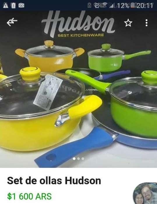 Set de <strong>olla</strong>s Hudson Nuevas