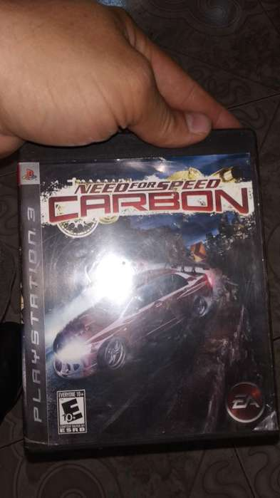 Need For Speed Carbón Play 3 Ps3