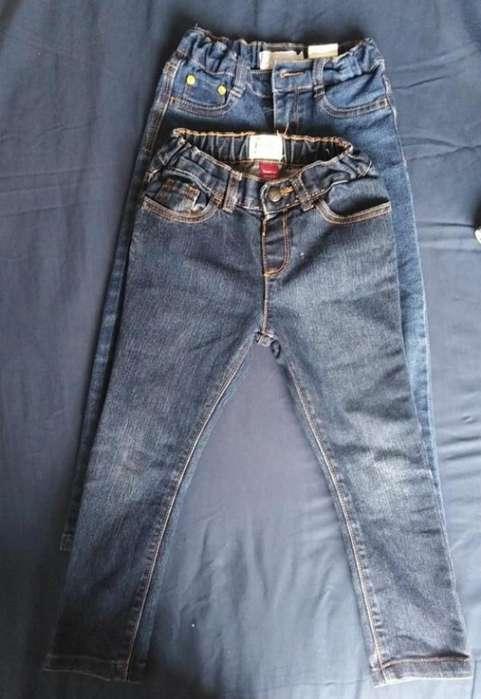 Jeans de Niña de Marca Talla 5 Usados Pe