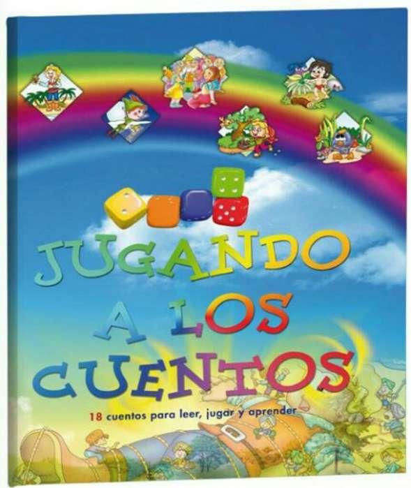 JUGANDO A LOS CUENTOS 18 cuentos para leer, jugar y aprender.