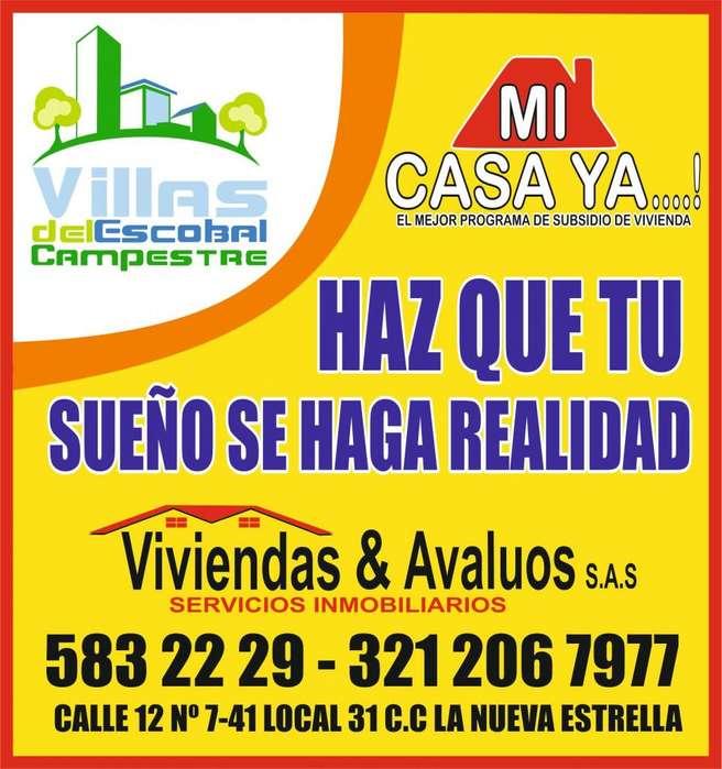 ULTIMAS DOS CASAS CON SUBSIDIO DEL GOBIERNO! Urbanizacion VILLAS DEL ESCOBAL CAMPESTRE , CUCUTA.