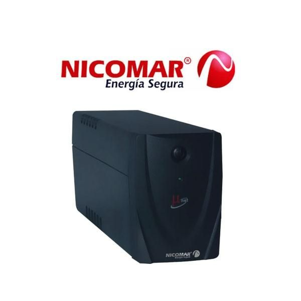 UPS Interactiva Powest MicroNet 750 VA regulador automático de Voltaje y picos