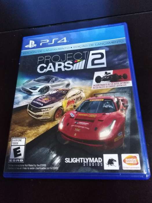 Vendo Proyect Cars 2 Ps4