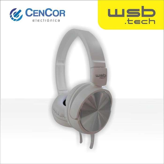 Auricular Vincha con Micrófono WSB.tech! CenCor Electrónica