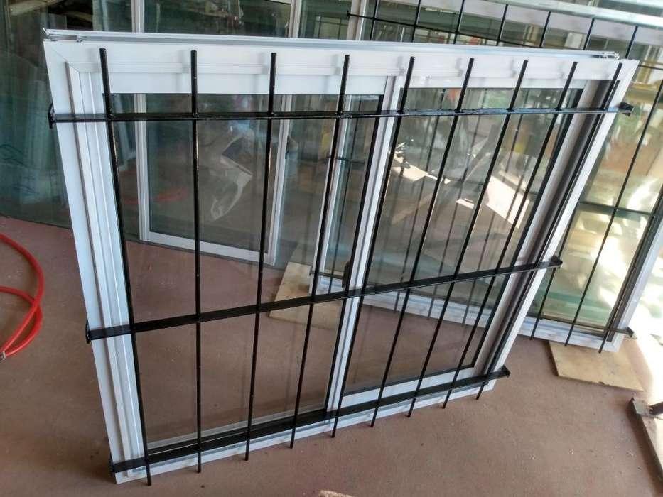 <strong>ventana</strong> 120 X 110 con Reja !!!única¡¡¡