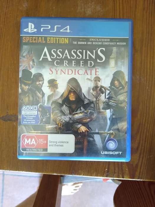 Vendo Assassin's Creed Syndicate, Fisico