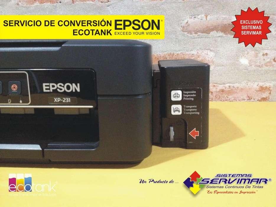 SERVICIO DE CONVERSIÓN ECOTANK