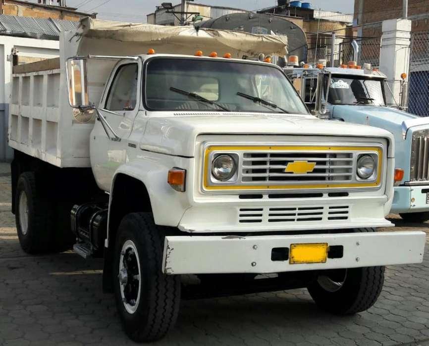 Volqueta Chevrolet C70 Mod 91