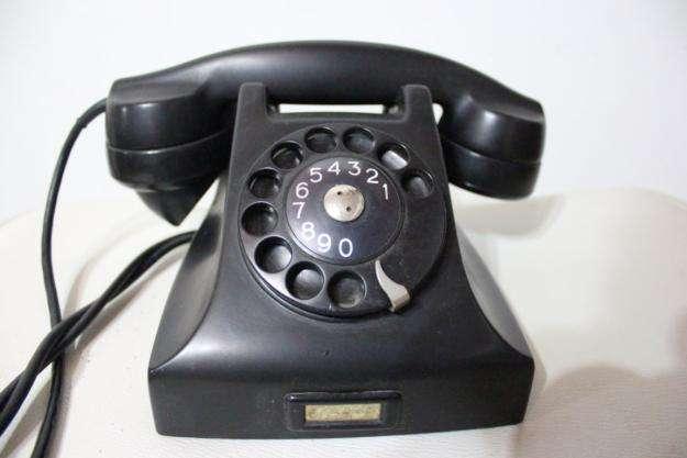 TELEFONO ANTIGUO DE DISCO MARCA ERISSON MADE IN SWRDEN