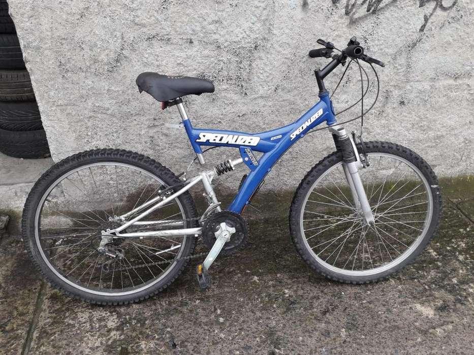 Vendo o Cambio Bicicleta Montañera Doble Suspension
