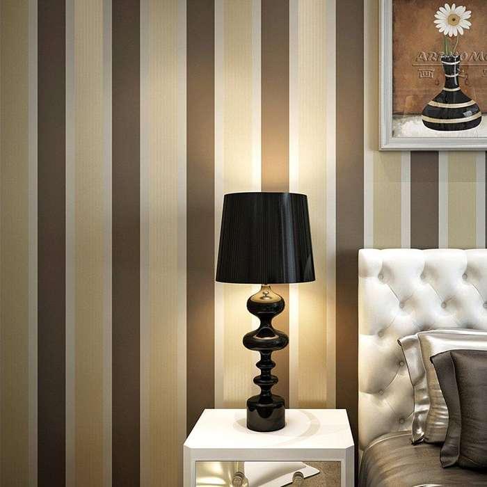 Papel Tapiz De Colgadura Blooming Wall 90374 Gold Coffee