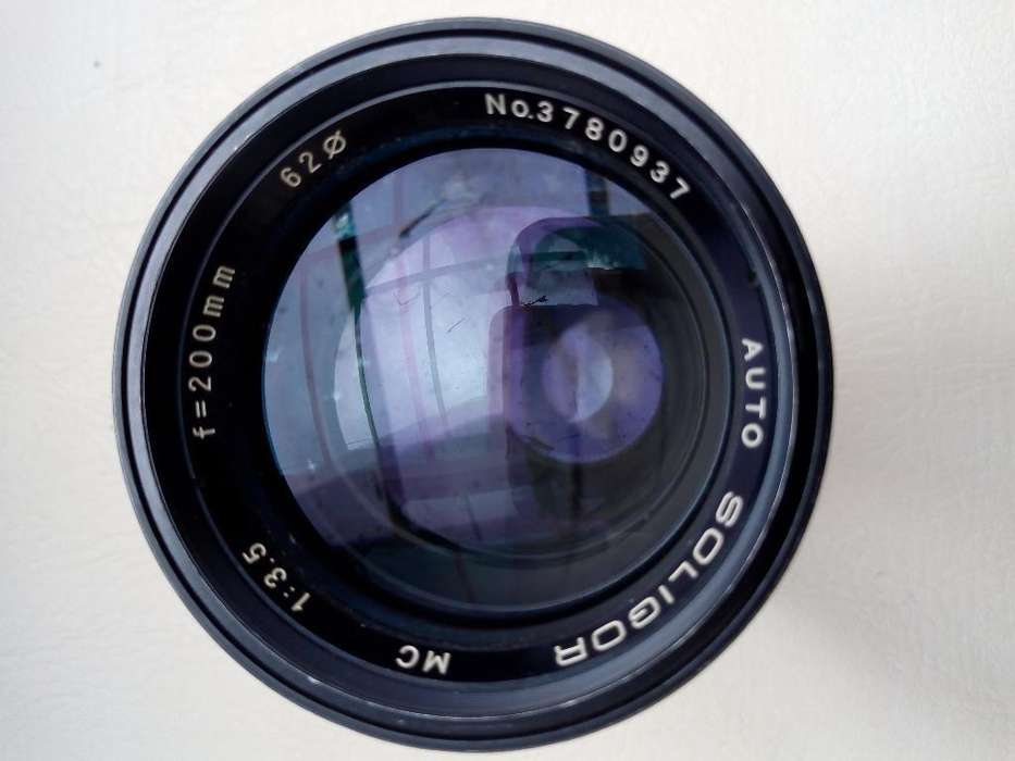 Lente Zoom Canon Leica <strong>olympus</strong> Y Otros