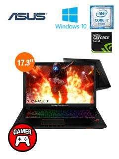 Laptop ASUS GL753VEGC226T 17.3' i7 12GB 1TB V4GB ILUMINADO