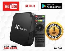 Tv box Smart 2GB RAM / 16GB ROOM / Android 7.1 / 1 AÑO DE GARANTIA / Emitimos Boletas y facturas