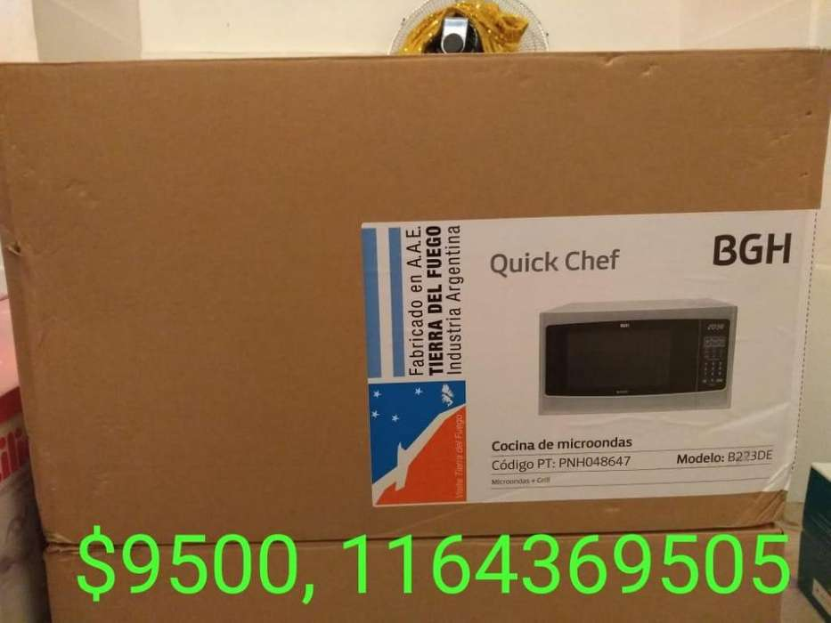 Microondas bgh quick cheff B223D